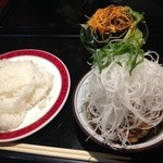 ジュリエ - 大根おろしの和風仕立てハンバーグセット ¥1000