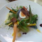 21623176 - 20種の野菜とななつぼし(米)のサラダ