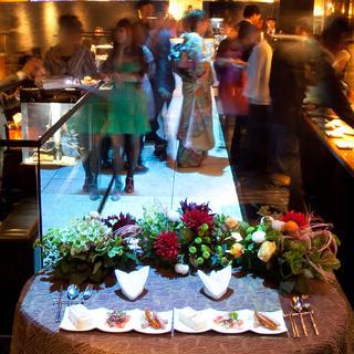 結婚式2次会やパーティなど、貸切のご予約も承ります。