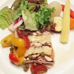 フレンチ キッチン - 秋刀魚とジャガイモのテリーヌ。