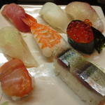 満海寿司 - 寿司 8貫
