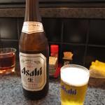 満海寿司 - 瓶ビール 中 550円