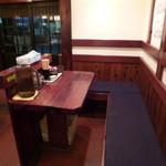 楓花亭 - お連れ様とお食事に、ボックスあります。