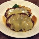 洋食屋 北の家族 - 料理写真:チーズハンバーグ(^^)