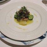 アロマフレスカ - 焼タラバ蟹のサラダ アロマフレスカ風
