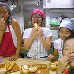 ブーランジュリ シマ - パン教室:試食タイム