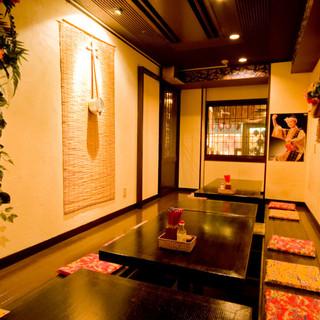 宴会はやっぱり個室or貸切!12~35名様用個室あります。