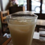 ひなた - ミントカルピス アイス 420円