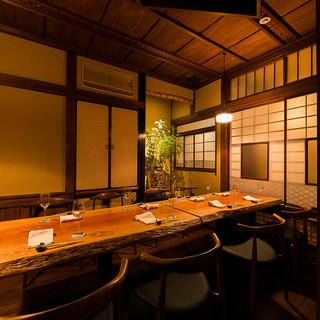 接待やご宴会に最適な完全個室は高級旅館のような和空間