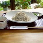 そば好日 - 料理写真:一番人気の盛り蕎麦(当店は信州産蕎麦粉を用いた十割蕎麦をお出ししています)