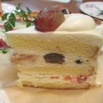 ラ・パレット - フルーツショートケーキ