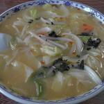 不二屋食堂 - 料理写真:H25年10月、みそラーメン(700円)