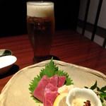 個室和食 ほたる - 馬刺し(赤身・フタエゴ):980円