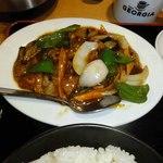 中華料理 千滋百味 吉田店 - 麻婆茄子