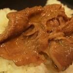 本みやけ - 特選和牛ロース鍋 肉アップ
