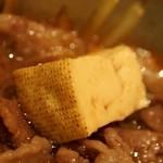 本みやけ - 特選和牛ロース鍋 焼き豆腐
