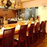 一味一笑 - ◆おひとり様やデートにピッタリのオープンキッチンカウンター♪