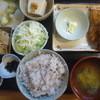 日光 - 料理写真:アジフライ定食