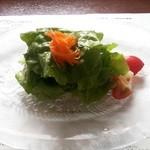 ツカサ - 縞鰺のカルパッチョサラダ
