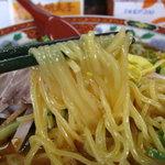 中華食堂チャオチャオ - 冷やし坦々麺の麺