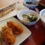 幸田町食堂 - 料理写真:初カキフライ