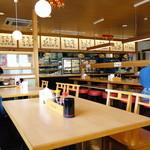 幸田町食堂 - 綺麗な店内