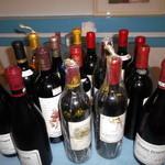 スパルタ - ワイン会のワイン達