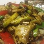 中国菜ろうりん - 鮑の肝ソース炒め