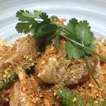 中国菜ろうりん - 甘鯛鱗揚げ、サクサク炒め
