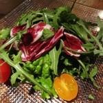 ワインバー繭 - グリーンサラダ