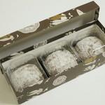 八百源来弘堂 - 肉桂餅《3個入》(\730、2013年9月)