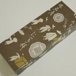 八百源来弘堂 - 肉桂餅《3個入》(ボックス、2013年9月)
