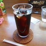 カレー オハナ - アイスコーヒー