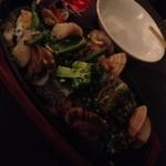 ルフージュ - 秋刀魚、あさりのアクアパッツァ