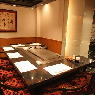 穏やかで落ち着いた空間の中、心に残るお食事をお楽しみください