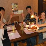 琉球居酒屋 南久宝寺 - オリジナルケーキや特別な舟盛りでお祝い♪バースデーなど特別な日の思い出づくりをスタッフが心を込めてお手伝いします。