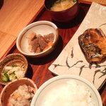 平太 - 塩サバ定食780円