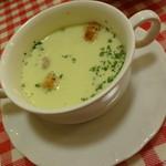 21652545 - ビストロランチのスープ