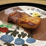 お料理 宮本 - マナガツオの幽庵焼き。