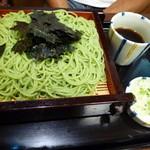 東家ぬさまい - 天ざる1400円