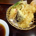 東家ぬさまい - の天ぷら