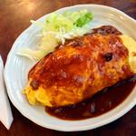 丸喜 - 料理写真:オムライスデミソース