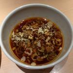 麺屋 千代松 - つけめんのスープ