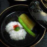 割烹竹万 - 鱧のお椀