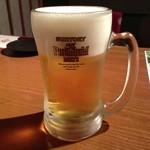 くずし割烹 和dining 一昇 - 生ビール(中)