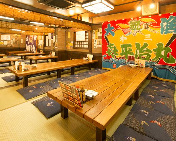 魚寅食堂 - 集合に便利!歓迎会・忘年会シーズンに便利なお店でもあります。