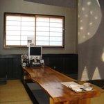 天ぷら山家 - 掘りごたつのお座敷です