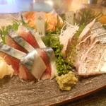 みなと寿司 - 〆サバ、太刀魚