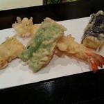 味にしかわ - 膳の天ぷら