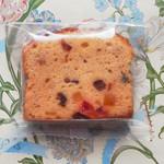 菓子工房 蘭す - フルーツケーキ